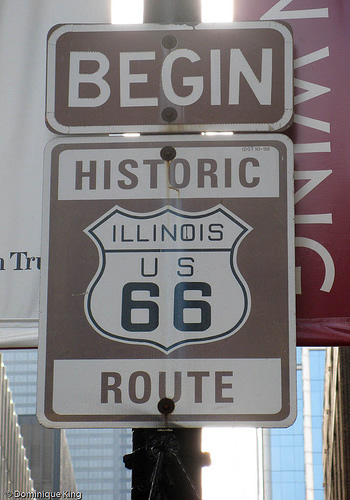 The Start of Historic Route 66
