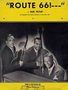 Nat Cole Trio - First Recording of Route 66