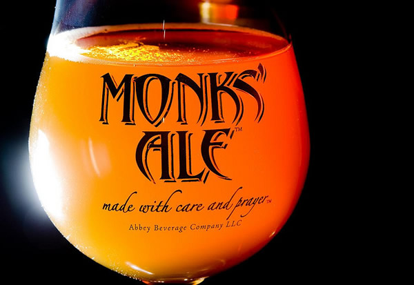Monks' Ale from Christ in the Desert Abbey, New Mexico, US
