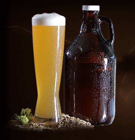 Hefeweizen With Growler