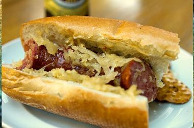 Beer & Brown Sugar Kielbasa recipe