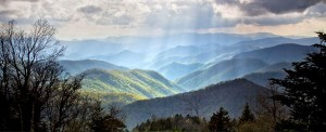 Pisgah Mountains in the Blue Ridge